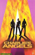 MOVIE POSTER~Charlie's Angels Original Film Cover Drew Barrymore Lucy Liu Diaz~