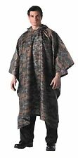 New! MARPAT MILITARY RAIN PONCHO Survival SHELTER Tactical Camo USMC Bug Out Bag