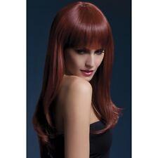 Women's Sienna Long Glamour Wig Two Tone Auburn Professional Model  Fancy Dress