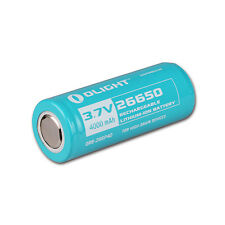 Olight 26650 3.7V 4000mAh 26650 Rechargeable Li-ion Protected Battery
