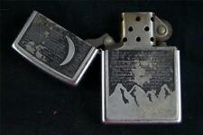 Zippo Moon & Mountain Cigarette Lighter