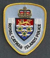 ROYAL CAYMAN ISLANDS POLICE PATCH