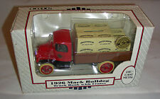 Anheuser Busch 1926 Mack Bulldog Truck Bank with Crates - Ertle 1989 1/38 Scale