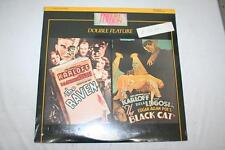 The Raven & The Black Cat Laserdisc Double Feature New in Plastic
