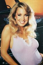 HEATHER THOMAS IN THE FALL GUY BUSTY COLOR POSTER PRINT