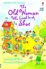 NEW USBORNE First Reading ( LEVEL TWO ) the OLD WOMAN WHO LIVED IN A SHOE pb 2