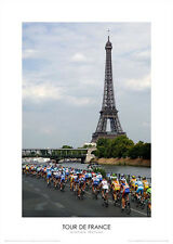 CYCLING TOUR DE FRANCE PHOTOGRAPH POSTER UNFRAMED - GRAHAM WATSON POSTER