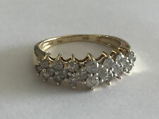 FANTASTIC Women's 10KT Yellow Gold 1/2 CT Diamond Ring Size 8