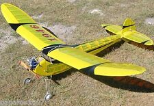 "Model Airplane Plans (FF): VIntage SUPER ROCKETEER 58""ws for .29-.35 Engine"