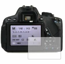 2 Pack Screen Protectors Cover Guard Film For Canon EOS 700D (Rebel T5i)