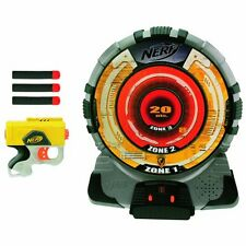 New NERF N-Strike TECH TARGET Dart BLASTER SET Reflex IX-1 ELECTRONIC Game
