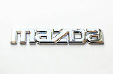 Mazda Logo Emblem Silver OEM Genuine Stock trunk  badge decal symbol Protege 626
