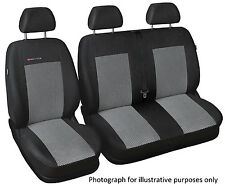 Renault Trafic 2013 Vauxhall Vivaro  tailored seat covers   1+2   grey2