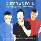 Queer as Folk: The Whole Thing Sorted by Original Soundtrack (CD, Sep-1999, 2 Di