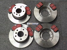 Land Rover Discovery 2 Front and Rear  Brake Discs and EBC Pad Kit