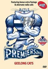 GEELONG CATS AFL GRAND FINAL DVD 2011 PREMIERS BRAND NEW SEALED ALL REGION!