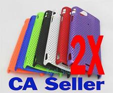 2X Mesh Net Rubber Hard Case Sony Ericsson XPERIA Arc X12
