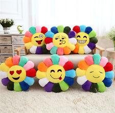 Tournesol QQ expression peluche jouets oreiller coussin yoga tapis d'enfant joue