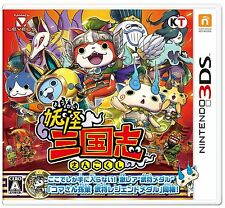 Nintendo 3DS Youkai Sangokushi Japanese Yokai Watch yo-kai game New Japan