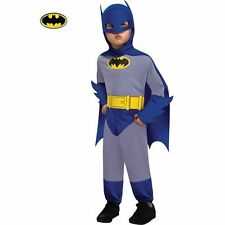 Classic Blue and Grey Batman Halloween Costume for Toddlers