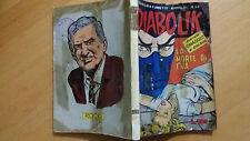 DIABOLIK anno VI n. 24  La morte di Eva  ORIGINALE  Sodip 1967