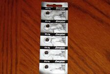 4 Pieces 321 Energizer Watch Batteries  FREE Shipping