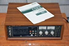 TEAC C-3RX Cassette - Works Well - Sounds Great - Just Svc'd - Orig Box & Manual