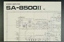 PIONEER SA-8500II Original Service-Manual/Service-Handbuch/Schaltplan!TOP