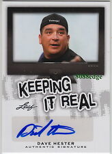 "2013 POP CENTURY KEEPING IT REAL AUTO: DAVE HESTER - AUTOGRAPH ""STORAGE WARS"" TV"