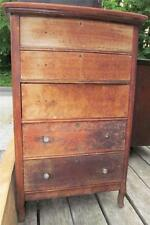 Antique 1800's Cherry Chest Of Drawers Dresser West Michigan Furniture