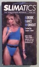 SLIMATICS AEROBIC DANCE WORKOUT hosted by susan anton  VHS VIDEOTAPE