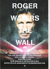 ROGER WATERS (Pink Floyd) The Wall film UK magazine ADVERT / Poster 11x8 inches