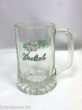 Grolsch beer glass small mug mugs 1 Dutch import glassware logo drink  HC3