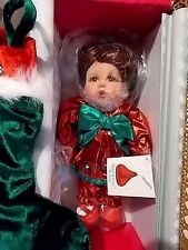MARIE OSMOND DOLL-MERRY KISSES-Stocking Girl-Hershey Licensed-NEW IN BOX-A-2