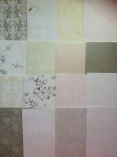 16 SHEET TASTER PACK FIRST EDITION THE PROMISE 6 x 6 CARD MAKING CRAFT PAPER