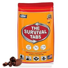 Survival Tabs 2 serving food storage Breakfast, Lunch, Dinner meal package