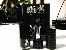 Kat Von D Formula X Studded X: Mini Lip + Nail Polish Duo (Slayer-pitch black)