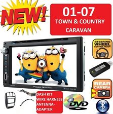 01-07 CARAVAN TOWN & COUNTRY BLUETOOTH TOUCHSCREEN CD DVD USB Car Radio Stereo