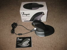 Penguin Wireless Ergonomic Vertical Mouse - LARGE (9820103) Good Condition!