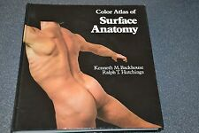 Color Atlas of Surface Anatomy / Backhouse / Hutchings