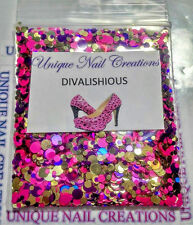 Limited Edition Glitter Mix~DIVALISHIOUS* Comes With Alloy~ Nail Art