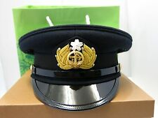 WW2 Japanese Navy Officer Peaked Cap  [Made in Japan]