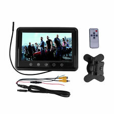 9 Inch HD Touchscreen Car Reverse LCD AV TFT LED Monitor Color Camera F7