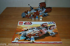 LEGO 7753 STAR WARS PIRATE TANK *100% COMPLETE + INSTRUCTIONS*