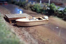 16' Outboard Motor Boat Kit HO Scale 1:87 Model Train Detail Osborn Model Kits
