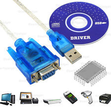 1m USB a RS232 9 Pin Cable Adaptador Convertidor Hembra De Serie DB9 Win XP 7 8 10