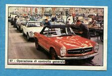 STORIA DELL'AUTOMOBILE Panini Figurina-Sticker n. 97 - CONTROLLO GENERALE -Rec