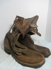 Original WW2 U.S. Army Combat Boots Made by B.F. Goodrich SZ 11 Minty Nos