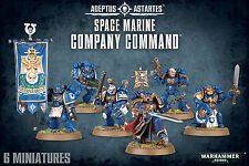 Space Marine Company Command - from Games Workshop