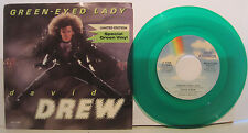 "David Drew ""Green-eyed Lady"" MCA Records 45 on Green Vinyl w/PS NM"